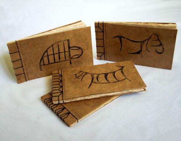 Handmade Books on Behance