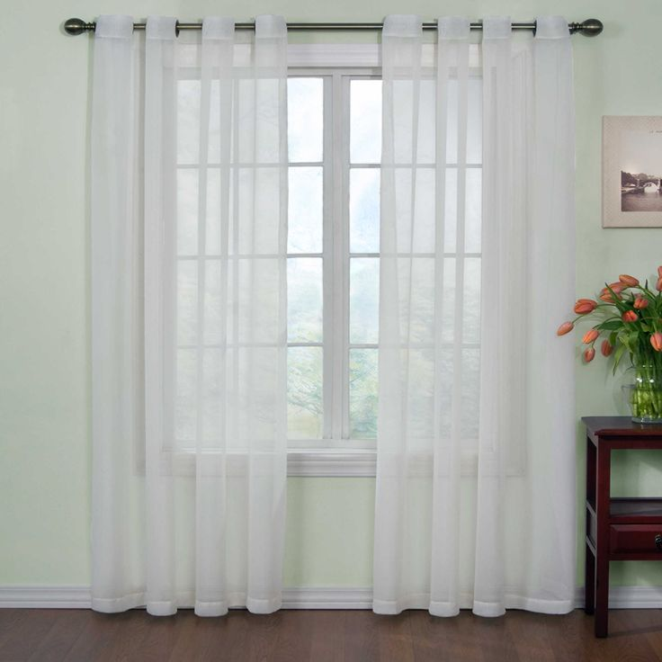 1000 Ideas About Short Window Curtains On Pinterest
