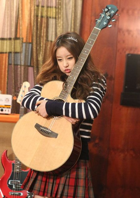 "More of T-ara Jiyeon's adorable photos from ""Dream High 2"" ~ T-ara World ~ 티아라"