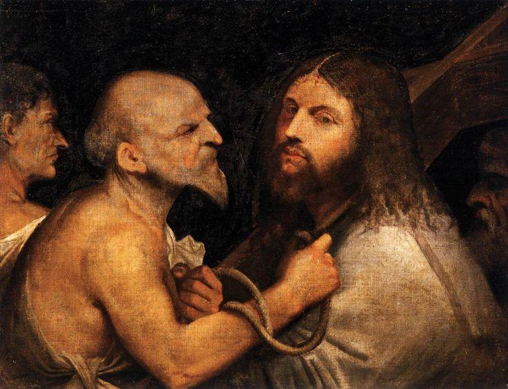 Giorgione Cristo portacroce Scuola grande di San Rocco Venezia