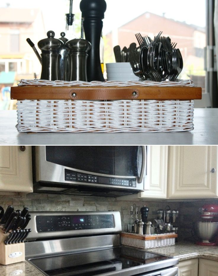 Top 10 Awesome DIY Kitchen Organization Ideas