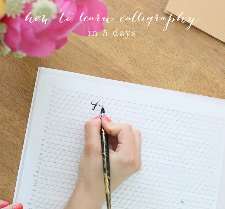 Learn Calligraphy Practice Words Fake Calligraphy
