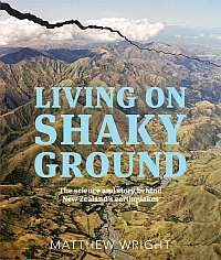 Cover of my book 'Living On Shaky Ground' (Random House 2014).