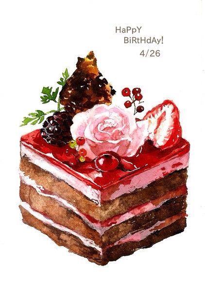 #Cakeillustrations #tartillustrations #sweetsillustrations #foodillustrations