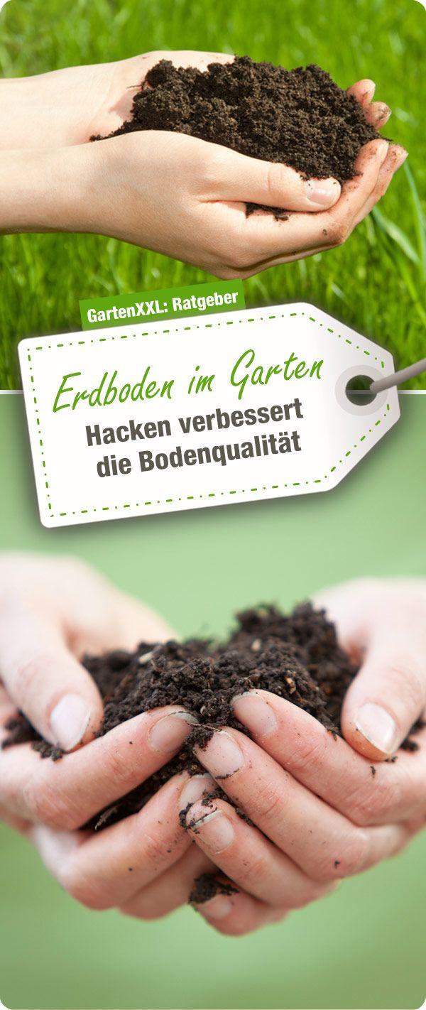 Zu Einer Guten Pflege Des Gartenbodens Gehort Das Regelmassige Hacken Oder Frasen Dadurch Wird Der Erdboden Krumeliger Gut Dur Gartenboden Garten Gartenarbeit