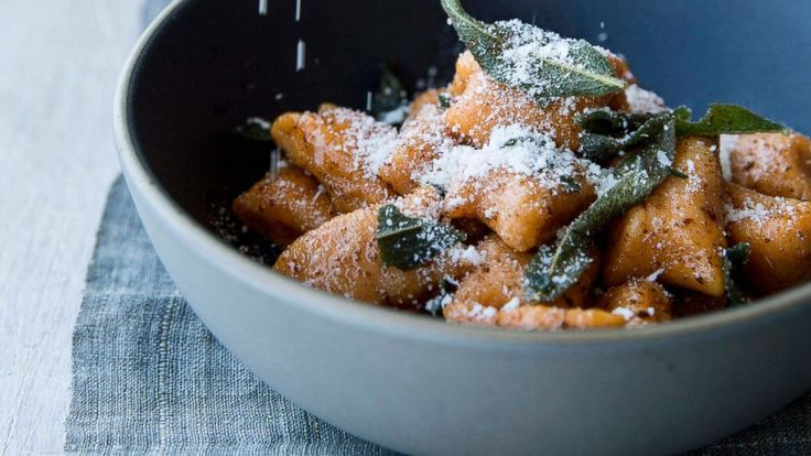 Sweet Potato Gnocchi with Brown Butter and Sage - Chrissy Teigen | Recipe - ABC News