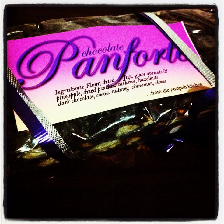 Christmas Chocolate Panforte...
