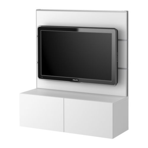 really like this one and the price is wonderful!! BESTÅ/FRAMSTÅ TV/storage combination - white  - IKEA