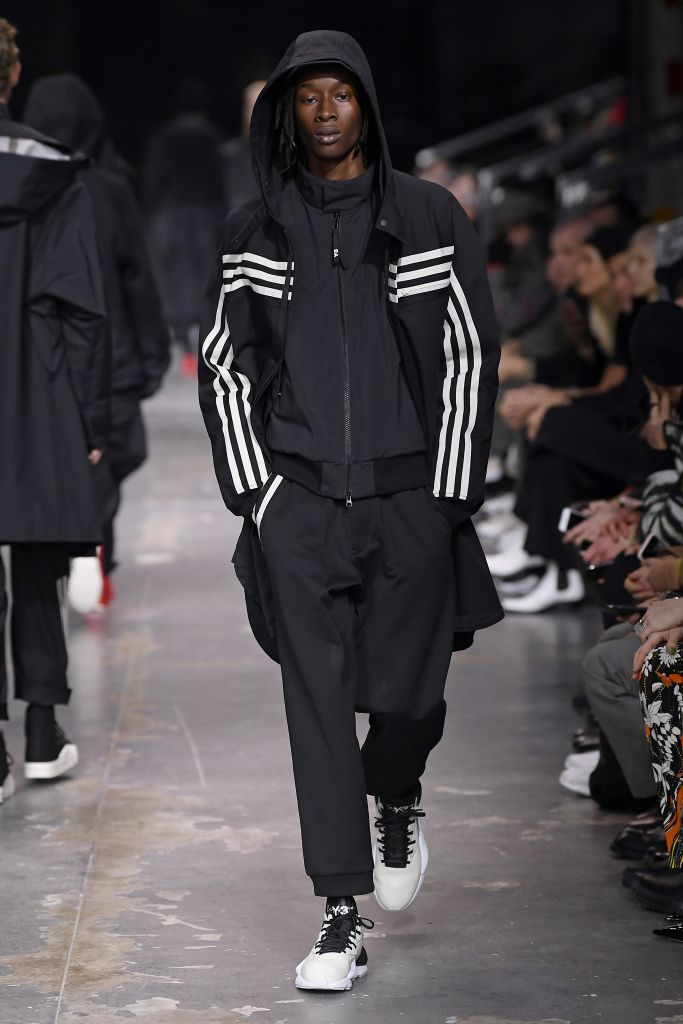 Adidas x Y 3 Shoes: Yohji Yamamoto's Must See Spring '18 PFW