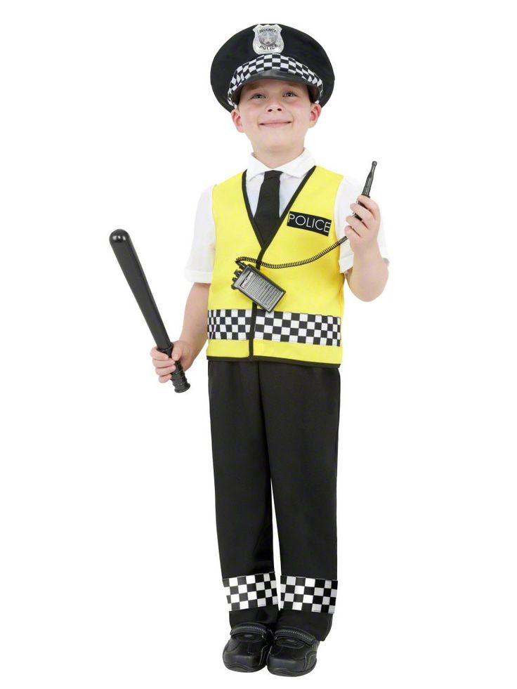 cops+and+robbers+childrens+costume | ... Police Fancy Dress Costume– Childrens / Kids Cops &Robbers Outfit