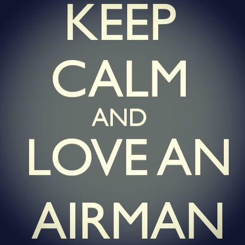 Air Force- he will always be my airman, like he was when we fell in love.
