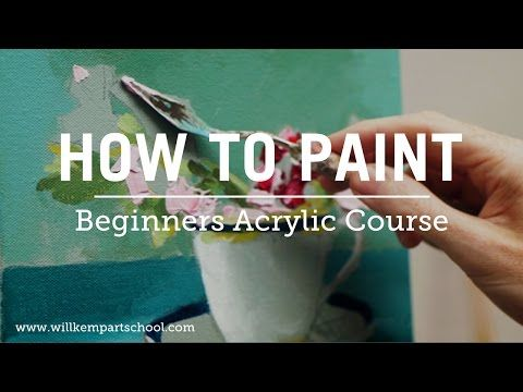 Beginners Acrylic Painting Course- I need some spare cash! I want this