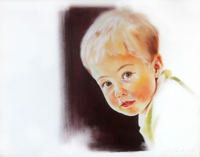 Muotokuva 2012, öljy kankaalle  60x50 - Kristiina Turtonen