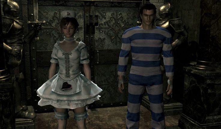 Resident Evil Zero HD Bonus Costumes & T-Shirts Preview
