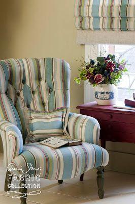 Brocante Home : Introducing Annie Sloan Fabrics