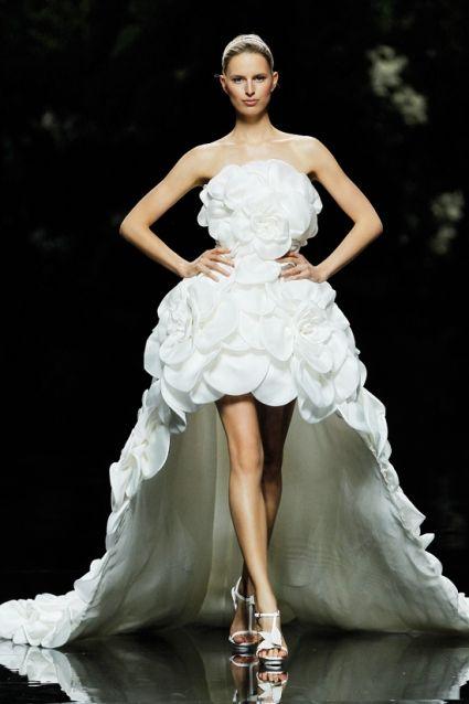 Robes de mariée avec le sens stéréoscopique (I) | Robe de mariée  demoiselle d'honneur