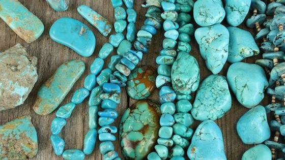 To the Ancient Egyptians, Turquoise represented powerful protection. It was associated with Hathor, the Goddess of motherhood, dance, and music. Protect yourself with Turquoise amulets and Jewellery by Amanda Marcucci.