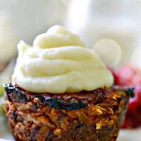 Vegan Meatloaf Cupcakes | Fork and Beans