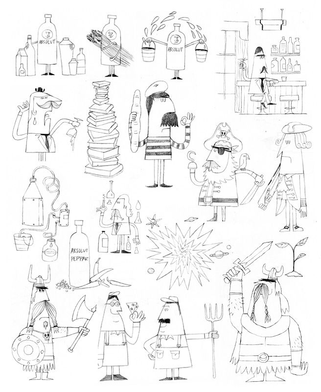 434 best character design images on pinterest cartoon for Chris lee architect