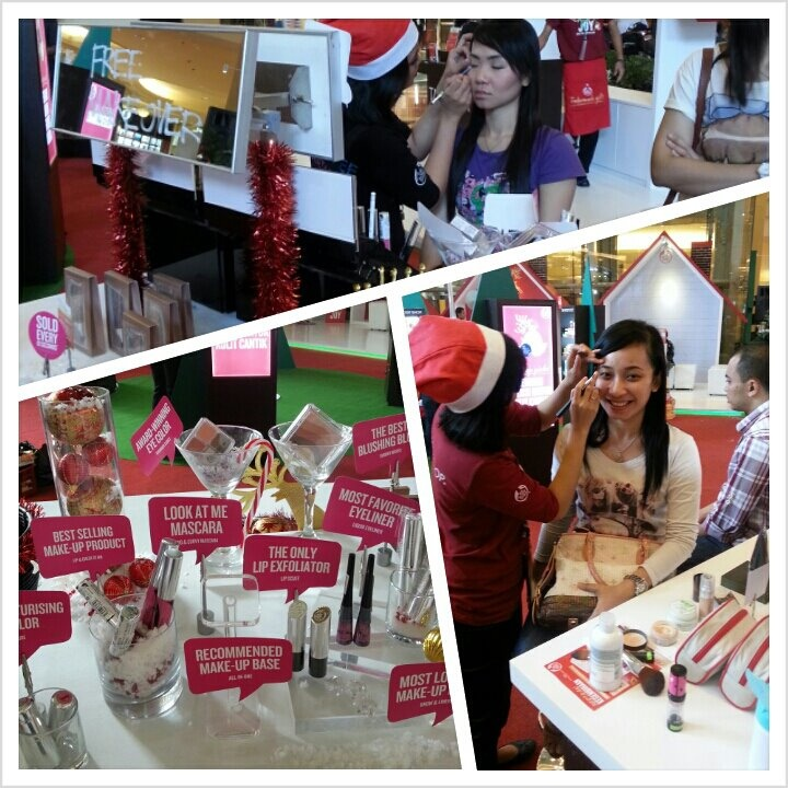 We spread joy! Free Make-over at The Body Shop Give Joy event