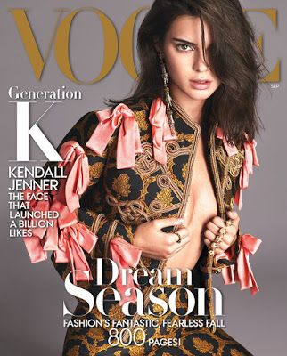 A day in the life of... Me: Kendall Covers Fashion's Most Important Cover