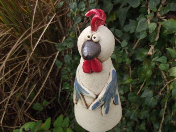 79 best Keramik zaunhocker images on Pinterest Pottery ideas - figuren aus ton selber machen