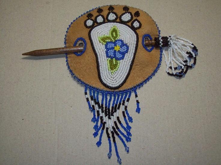 Athabascan beadwork by Brenda Mahan from Galena, Alaska