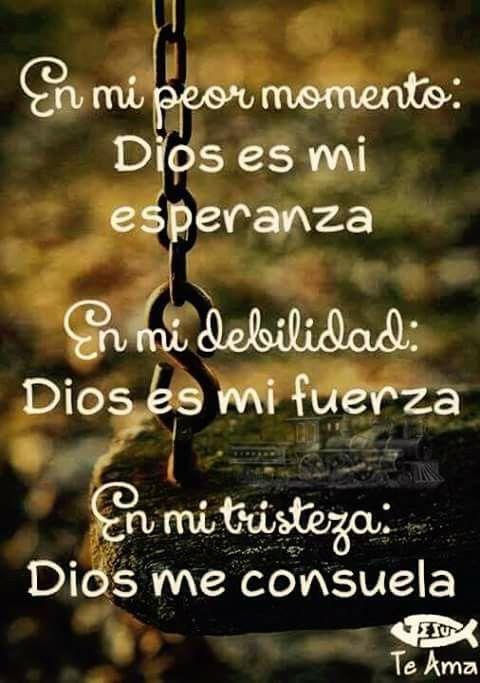 Dios siempre esta conmigo <3