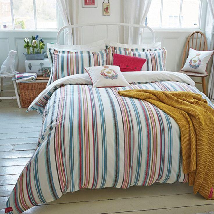 Bath Stripe Bedding by Joules