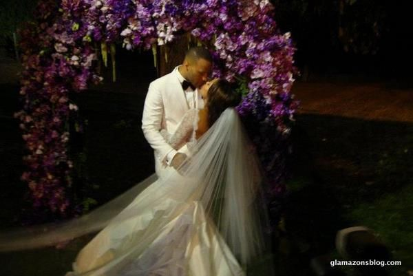 Actress Meagan Good and Film executive/minister Devon Franklin's beautiful 2012 Wedding ceremony. #blacklove