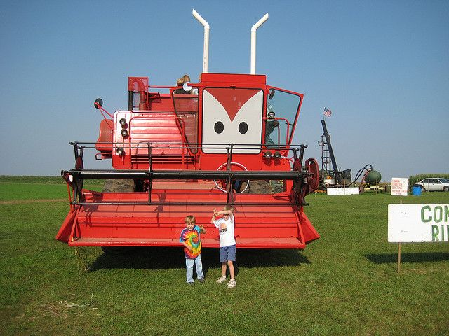 Tractor From Cars : Images about tractor tipping party on pinterest