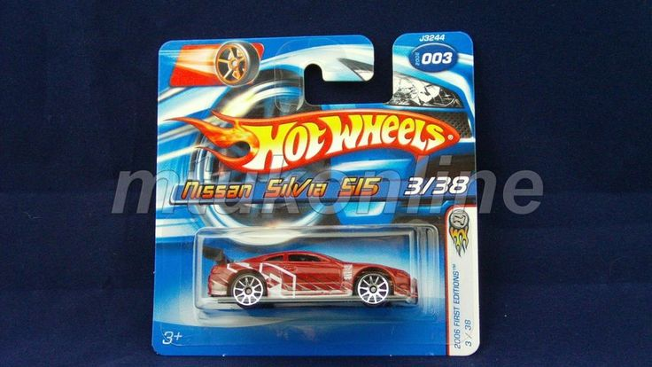 HOTWHEELS 2006 FIRST EDITIONS | NISSAN SILVIA S15 | 3/38 | 003-2006 | J3244