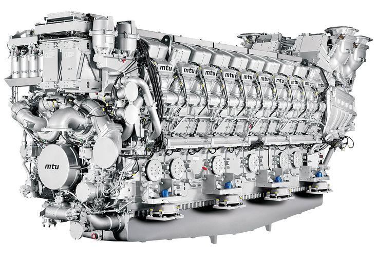 USS Independence LCS 2 MTU 20V 8000 M90 Diesel Engine Photo 2
