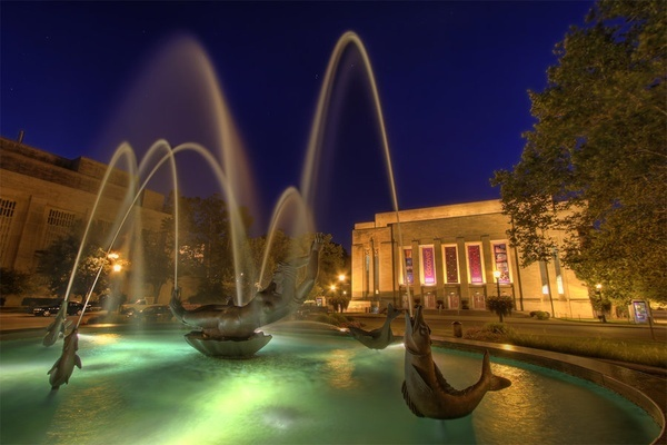 Schowalter Fountain, Indiana University, Bloomington, IN