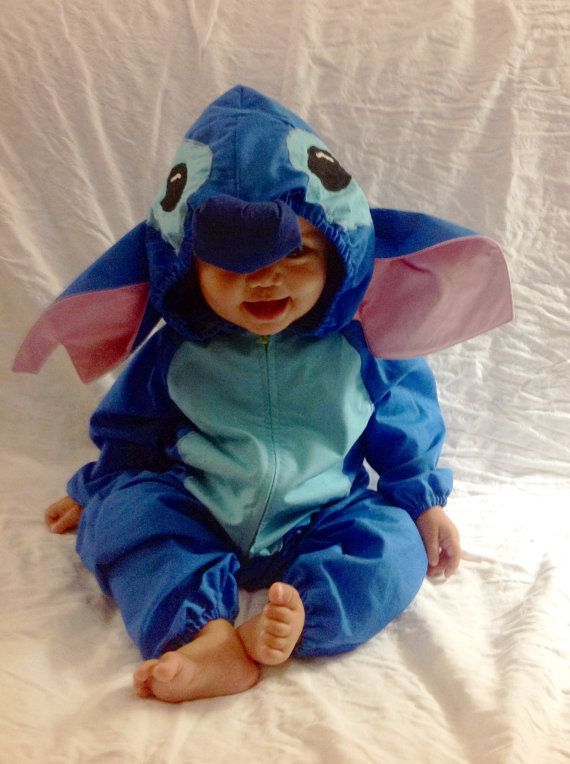 Made of a light weight cotton this Stitch costume is the perfect combination to your Lilo, or just for the cuteness of it all. You will recieve body
