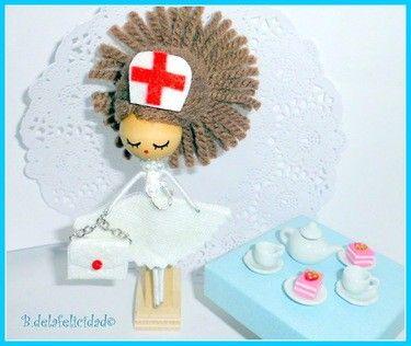 Nurse Doll Brooch from Picsity.com