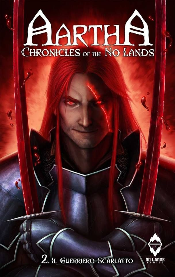 Aartha, Chronicles of the No Lands n.2 Pedro M. Andreo Xabi Gaztelua #fantasy #nolands #aartha