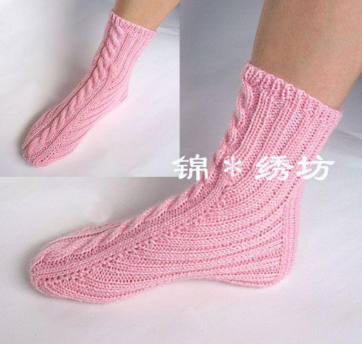Красивые носки связанные спицами,необычной вязки. - 7 Сентября 2015 - Рукоделие…