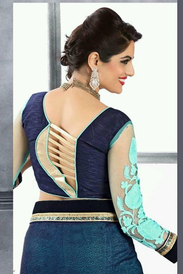 Stylish And Trendy Blouse Back Neck Design K4 Fashion Fancy Blouse Designs Stylish Blouse Design Trendy Blouse Designs