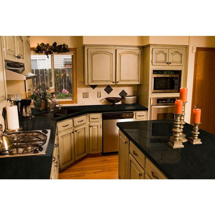 Kitchen Ideas With Black Granite Countertops: 20 Best Countertops For Cherry Cabinets Images On