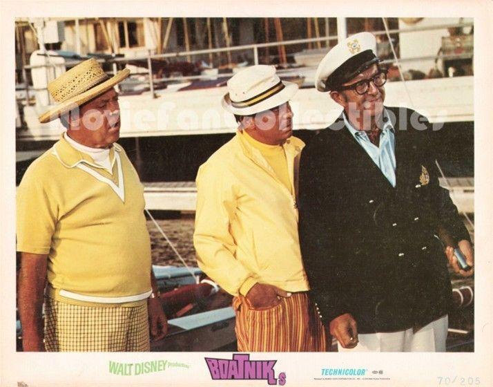 Boatniks 11x14 Lobby Card Phil Silvers, Norman Fell, Mickey Shaugnessy