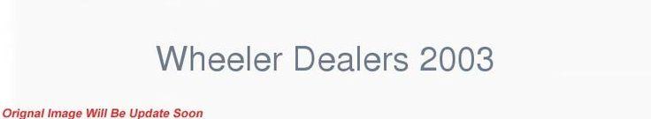 Wheeler Dealers 2003 S13E11 720p HDTV x264-C4TV