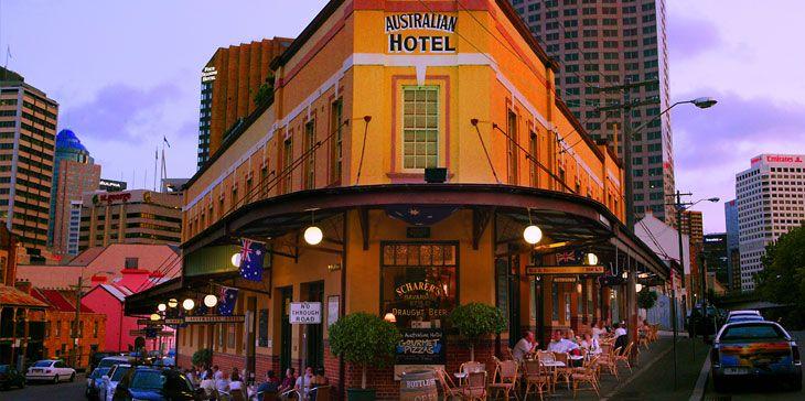 Australian Hotel at The Rocks, Sydney