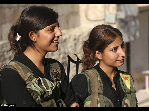 The Kurdish Women who take on ISIS- I stand with the Kurds.  Isis must be stopped. G. Ricks