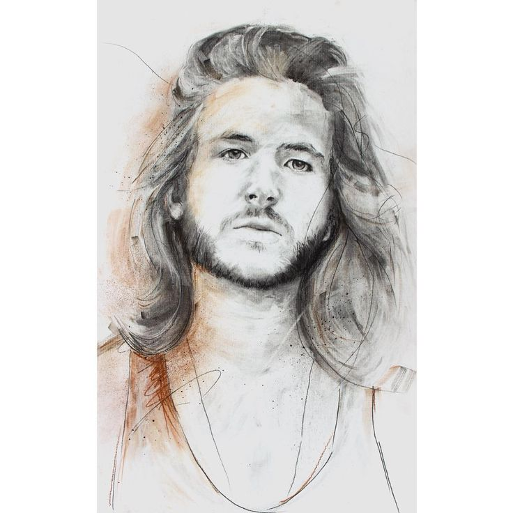David Fooks - Q&S 40. Nels.  Amazingly awesome Chicago based illustrator @nelsarne and I did a portrait swap for this one. He did such a spot on job with mine, look forward to sharing it. Charcoal Portrait