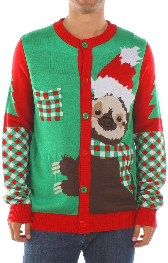 Tipsy Elves Stage Five Clinger Sloth Sweater