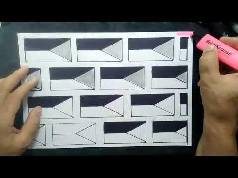 كيف تصمم ديكور ثلاثي الأبعاد How To Design A 3d Decor Youtube Cards Playing Cards Draw