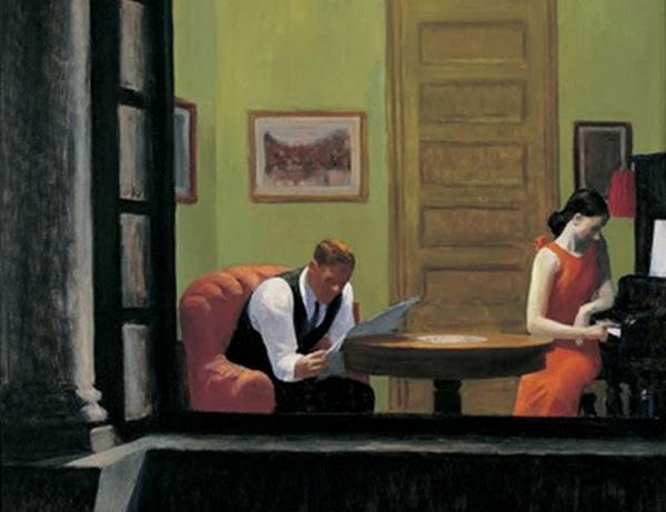 HOPPER Edward - American painter/printer (1882-1967) - MODERN REALIST
