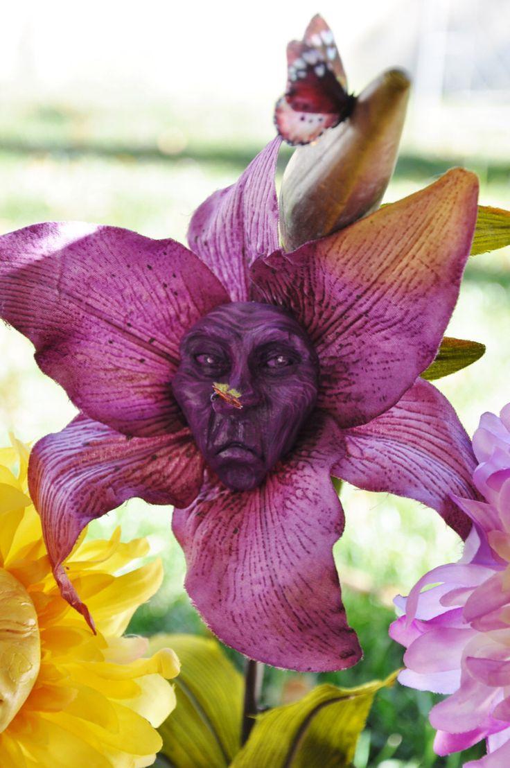 "Alice in Wonderland Talking Flower ""Mr Grumpy"" by Jennifer Sutherland resin collection by SUTHERLANDDOLLART on Etsy https://www.etsy.com/listing/229813439/alice-in-wonderland-talking-flower-mr"