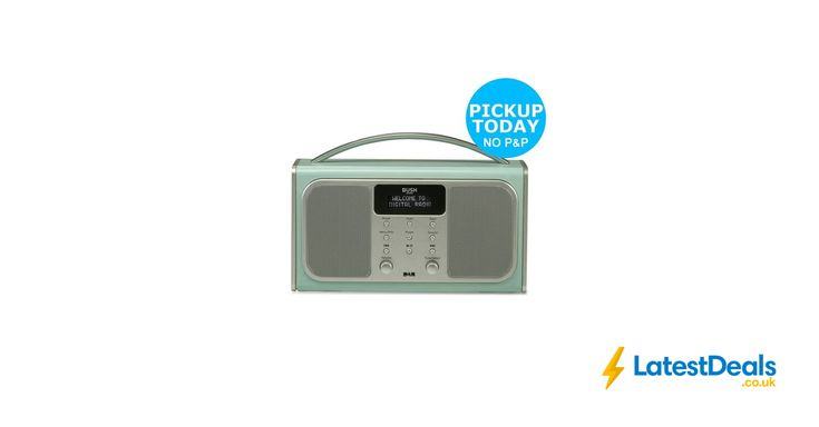 Bush Bluetooth LCD RDS DAB Radio Wireless Speaker at Argos/ebay, £34.99
